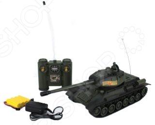 Танк на радиоуправлении Пламенный Мотор «T-34 (СССР)» машинка на радиоуправлении пламенный мотор 87572