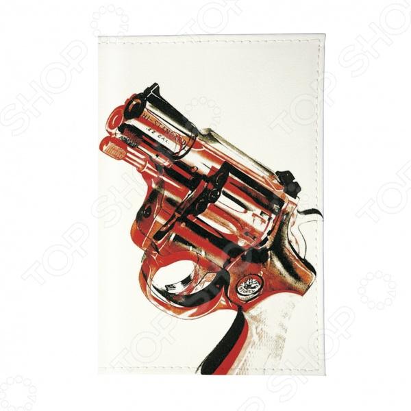 все цены на Обложка для автодокументов Mitya Veselkov «Пистолет»
