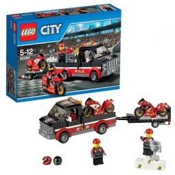 Купить Конструктор LEGO Перевозчик гоночных мотоциклов