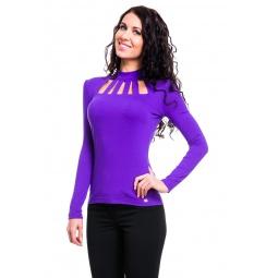 фото Водолазка Mondigo 417. Цвет: фиолетовый. Размер одежды: 46