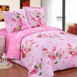 фото Комплект постельного белья Amore Mio Buket. Poplin. 1,5-спальный