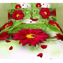 фото Комплект постельного белья Buenas Noches Gerbera. Satin Fotoprint. 2-спальный