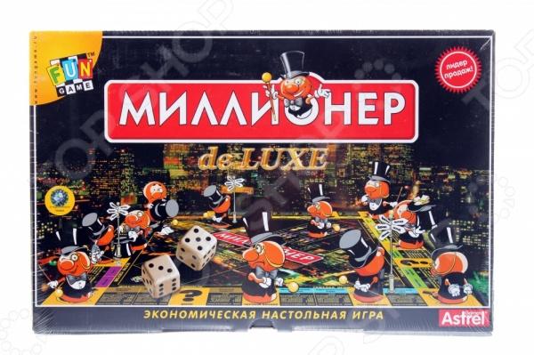 Настольная игра Оригами Миллионер-делюкс - занимательная групповая игра, которая представляет собой оригинальную альтернативу всем известной игры Монополия , созданной почти век назад. Главным отличием этой игры является фактор случайности. Здесь была добавлена шкала личного рейтинга игроков, поэтому вы сможете играть, как с ней, так и без ней. У игроков есть две основные цели - стать настоящим монополистом и разорить все остальных игроков, или достичь вершины шкалы рейтинга. Игра предназначена для 2 или 6 участников. Она подходит, как для детей, так и для взрослых. Игра направлена на развитие логического и экономического мышления, обучение основам экономики, повышение общего интеллектуального уровня. Попробуйте себя в новой и непривычной ипостаси с настольной игрой Оригами Миллионер-делюкс !