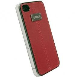 фото Чехол Krusell Luna Faux UnderCover для iPhone 4. Цвет: красный