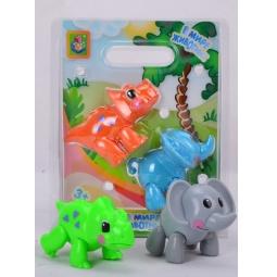 Купить Набор животных 1 Toy Т57439. В ассортименте