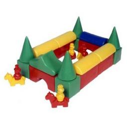Купить Набор кубиков Строим вместе «Постоялый двор»
