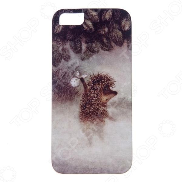 Чехол для iPhone 5 Mitya Veselkov «Ежик в молочном тумане»
