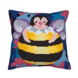 Купить Набор для вышивания подушки Collection D'art 5035