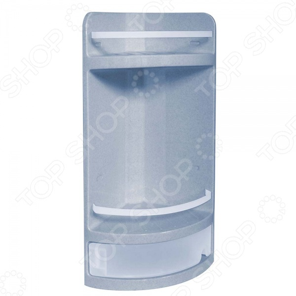 Полка для ванной IDEA М 2759 поможет вам организовать пространство ванной комнате. На такой полочке удобно разместятся многочисленные принадлежности для ванной: шампуни, бальзамы, лосьоны. Полка выполнена из высококачественного пластика и не подвержена коррозии. Полка легко монтируется и неприхотлива в вопросах ухода.
