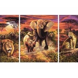 Купить Набор для рисования по номерам Schipper «Африка»