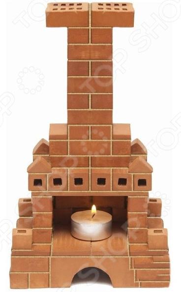 Конструктор из глины Brick Master «Печка»Другие виды конструкторов<br>Конструктор из глины Brick Master Печка оригинальная альтернатива традиционным конструкторам с пластиковыми деталями. Почувствуйте себя настоящим строителем, создавая строение из миниатюрных кирпичиков. Все строительные блоки выполнены из обожженной глины, они гладкие и приятные на ощупь. Набор включает специальную строительную смесь из очищенного речного песка и крахмала, используемую для скрепления кирпичиков. После высыхания состав затвердевает, и готовое строение можно поставить на полочку. Однако при желании достаточно поместить конструкцию на 3-4 часа в воду, и смесь растворится. В результате кирпичики снова будут готовы для игры. Конструктор подойдет для детей от 3 лет. Главное, чтобы ребенок начинал игру под присмотром взрослых. Все материалы экологически чистые и безопасные для здоровья. Комплект включает керамические детали, смесь и мастерок.<br>