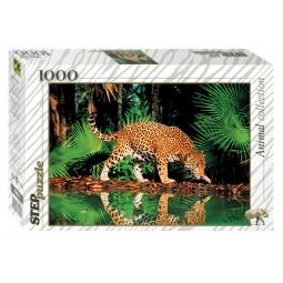 фото Пазл 1000 элементов Step Puzzle Леопард у воды