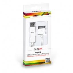 фото Кабель USB 2.0 A/M – Apple 30p Onext
