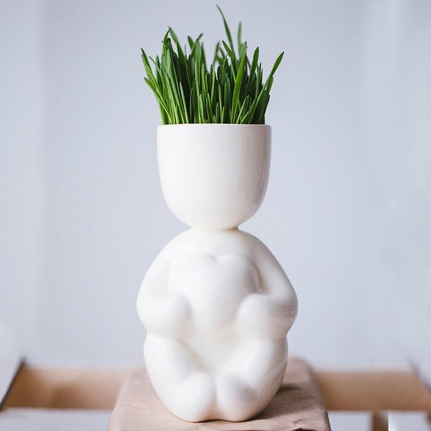 фото Набор для выращивания Экочеловеки Eco «Романтик». Цвет: белый