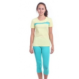 фото Комплект для девочки: джемпер и капри Свитанак 606504. Рост: 158 см. Размер: 42