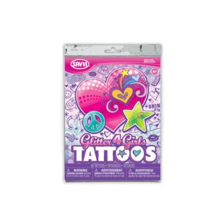 Купить Татуировки временные Savvi для девочек. В ассортименте