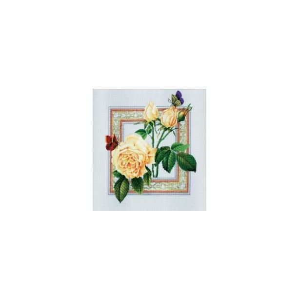 фото Набор для вышивания RTO «Бабочки и цветы»