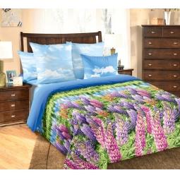 фото Комплект постельного белья Королевское Искушение «Люпины». Семейный