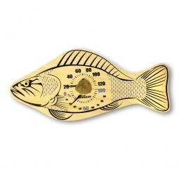 фото Термометр для бани и сауны EVA «Рыбка»