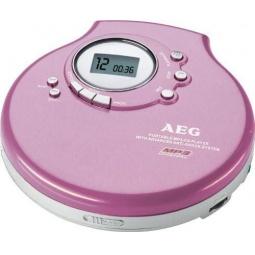 фото MP3-плеер AEG CDP-4212. Цвет: розовый