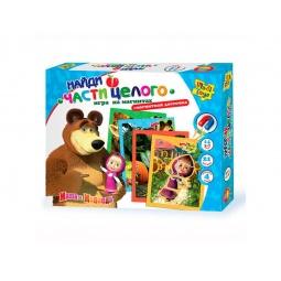 фото Игра развивающая на магнитах Vladi Toys «Найди части целого»