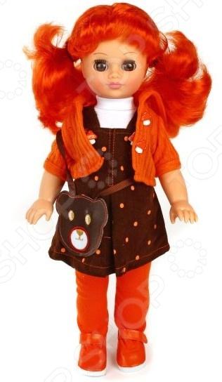 Кукла интерактивная Весна «Лиза 14»Интерактивные куклы и пупсы<br>Кукла интерактивная Весна Лиза 14 это красивая куколка, которая точно порадует вашего ребенка и подарит ему сказочные минуты игры. При создании уделялось внимание всем частям тела и аксессуарам, ведь именно это делает куклу уникальной. Глаза и вся фигурка полностью соответствует образу настоящего маленького человека. Кукла одета в оригинальный наряд, а волосы уложены в соответствии с общим стилем. Игрушки такого типа помогают ребенку развивать фантазию, мелкую моторику рук, логику и создавать собственные удивительные истории с участием куклы.<br>