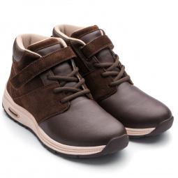 Купить Ботинки адаптивные женские высокие Walkmaxx. Цвет: коричневый