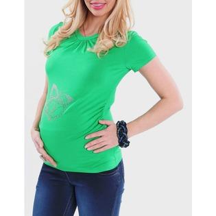Купить Футболка для беременных Nuova Vita 1215.07. Цвет: салатовый