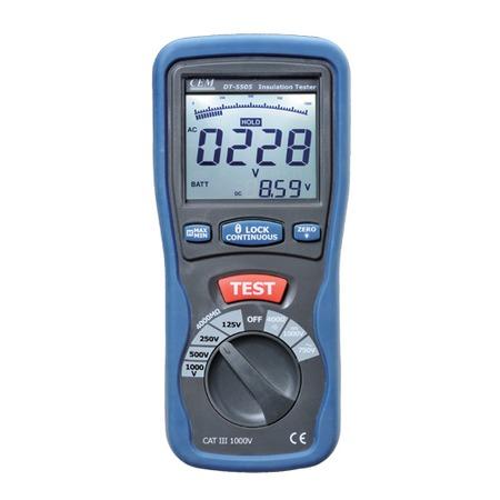 Купить Мегаомметр СЕМ DT-5505. В ассортименте
