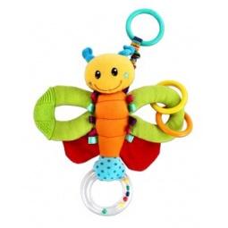 фото Игрушка подвесная Жирафики «Веселая бабочка»