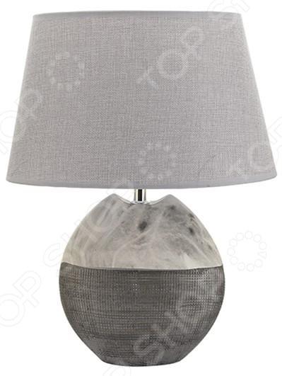 Лампа настольная Elan Gallery «Мраморная»Настольные лампы<br>Лампа настольная Elan Gallery Мраморная электрический светильник для освещения дома и придания помещению особого уюта, атмосферы, чтобы подчеркнуть красоту интерьера. Придаст домашним вечерам особое очарование. Лампа выполнена в оригинальном стиле, идеально подойдет как подарок на новоселье. Светильник в современном стиле прекрасно подойдет для гостиной и спальни.  Овальный абажур.  Оригинально смоделированное основание. На сегодняшний день существует множество вариантов того, как украсить интерьер с помощью красивых настольных ламп. Комбинируйте сразу несколько декоративных элементов и придавайте индивидуальность и неповторимость любому помещению.<br>