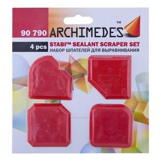 Купить Набор шпателей для выравнивания Archimedes Stabi: 4 шт.