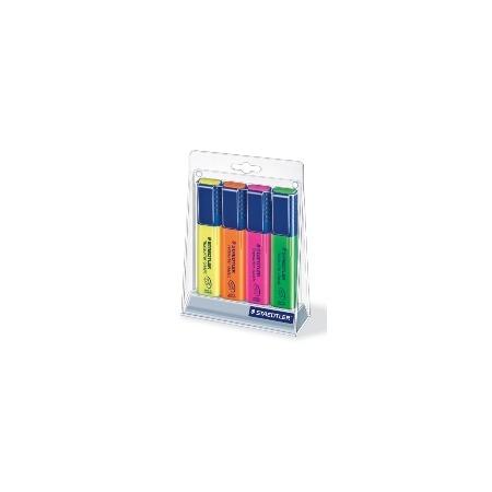 Купить Набор маркеров-текстовыделителей Staedtler 364SC4