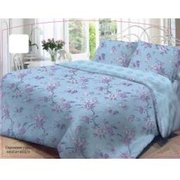 фото Комплект постельного белья Нежность «Сиреневое утро». 1,5-спальный. Размер наволочки: 50х70 см — 2 шт