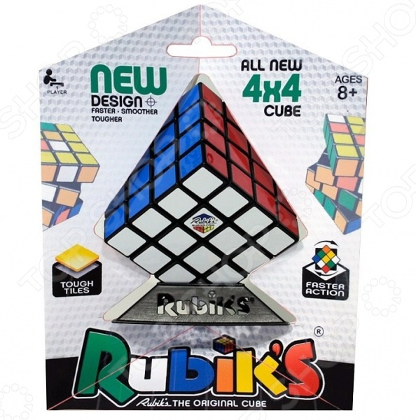 Игра-головоломка Rubiks «Кубик рубика 4х4» конструктор развивающий rubiks кубик рубика сделай сам