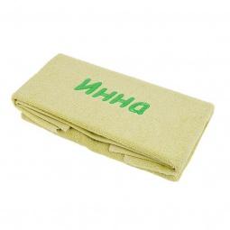 фото Полотенце подарочное с вышивкой TAC Инна. Цвет: зеленый