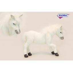 фото Мягкая игрушка для ребенка Hansa «Лошадь Паломино»