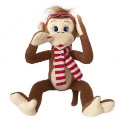 фото Мягкая игрушка Fluffy Family «Обезьянка Микки с очками»