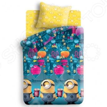 Комплект постельного белья Непоседа «Фабрика». 1,5-спальный постельное белье сладкий сон шелк искусственный 1 5 спальный