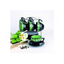 Купить Чайный набор на подставке Фарфоровый путь «Орех»