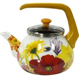 Купить Чайник эмалированный Interos «Настроение»