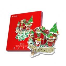 Купить Пазл 3D CubicFun «Сказочный рождественский замок»