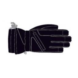 Купить Перчатки детские горнолыжные GLANCE Fighter Junior (2012-13). Цвет: черный