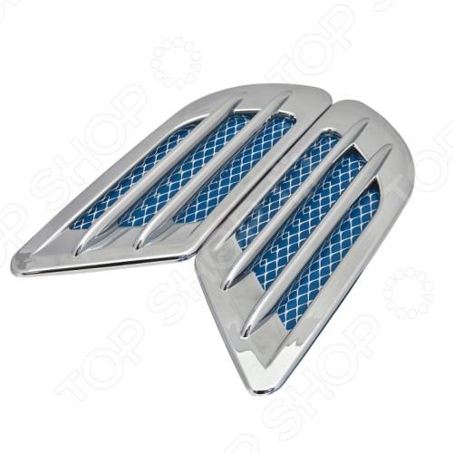 AUTO-H.K. GT-36964 представляет собой современный и очень стильный дефлектор для автомобиля. Представленная модель относится к элементам внешнего тюнинга и вносит в корпус машины яркие акценты. Крепится при помощи стикера с внутренней стороны, поэтому установка производится быстро и просто. Купив данный набор из двух дефлекторов, вы придадите эксклюзивности и оригинальности вашему железному коню . Дефлектор AUTO-H.K. GT-36964 является отличным подарком для любого автомобилиста! Размер 1 изделия составляет 210х75 мм.