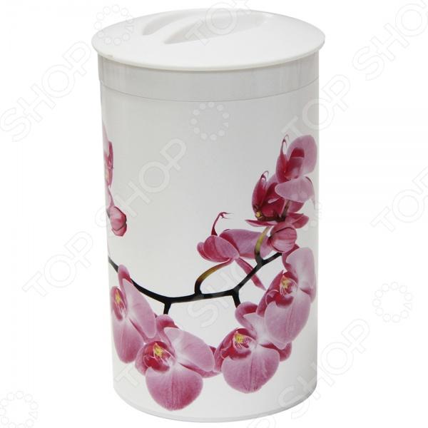 Банка для сыпучих продуктов Idea «Деко. Орхидея»