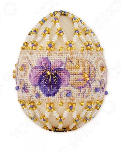 Подарочный набор «Яйцо пасхальное. Фиалка»
