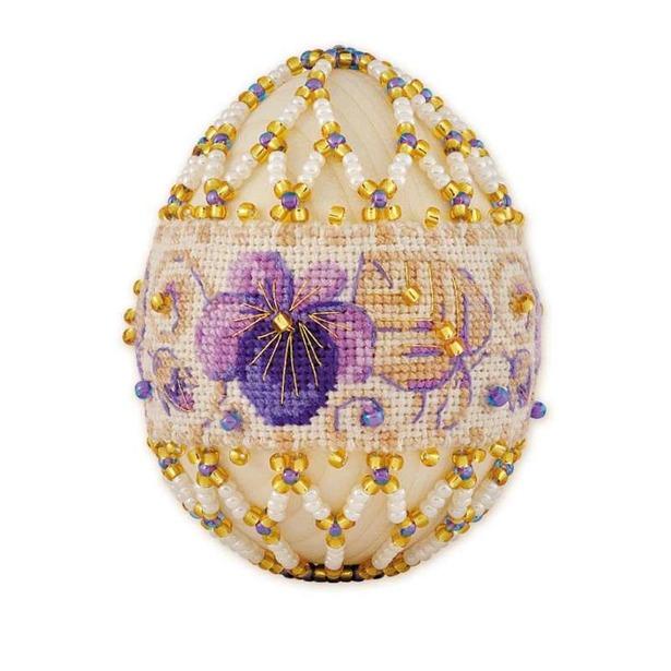 фото Подарочный набор «Яйцо пасхальное. Фиалка»