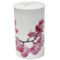 фото Банка для сыпучих продуктов IDEA «Деко. Орхидея»