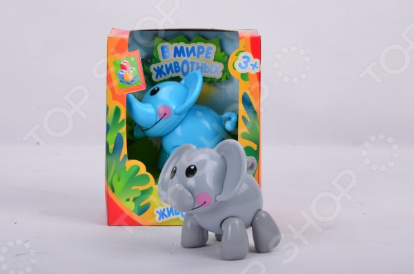 Фигурка-игрушка 1 Toy «Слон». В ассортименте