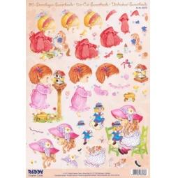 Купить Аппликация вырубная для объемных рисунков Reddy Creative Cards G83376